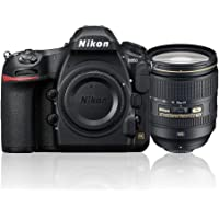 Nikon D850 + AF-S 24-120mm f/4 ED VR Single Lens Kit, Black