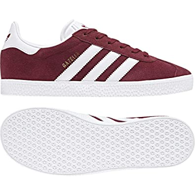 sports shoes dc697 5b65f adidas Gazelle C, Chaussures de Fitness Mixte Enfant, Rouge (Buruni Ftwbla  000)