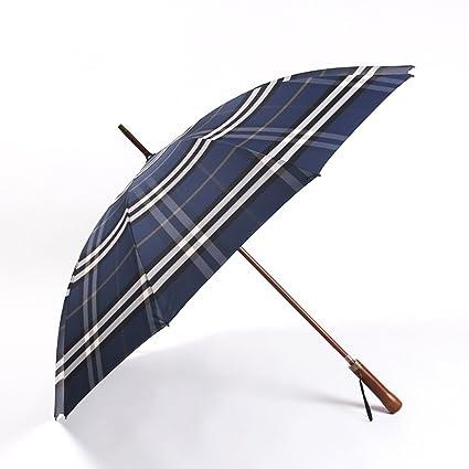 ZJM-umbrella Paraguas con Paraguas con Mango Largo y Estilo Moderno Paraguas con Paraguas con