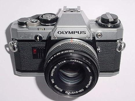 Cámara de vídeo analógica Olympus OM10 SLR de 35 mm y lente ...