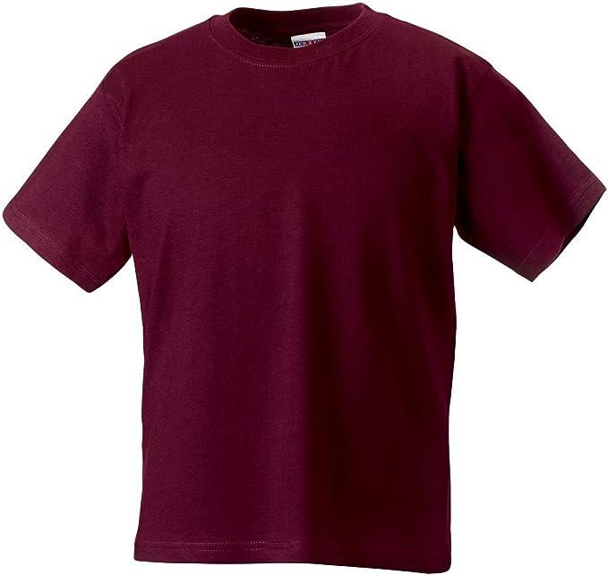 Jerzees Schoolgear - Camiseta de manga corta ligera para niños ...