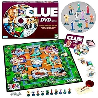 Hasbro Gaming Clue DVD Game: Toys & Games