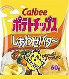 Calbee potato chips happy butter 60gX12 bags