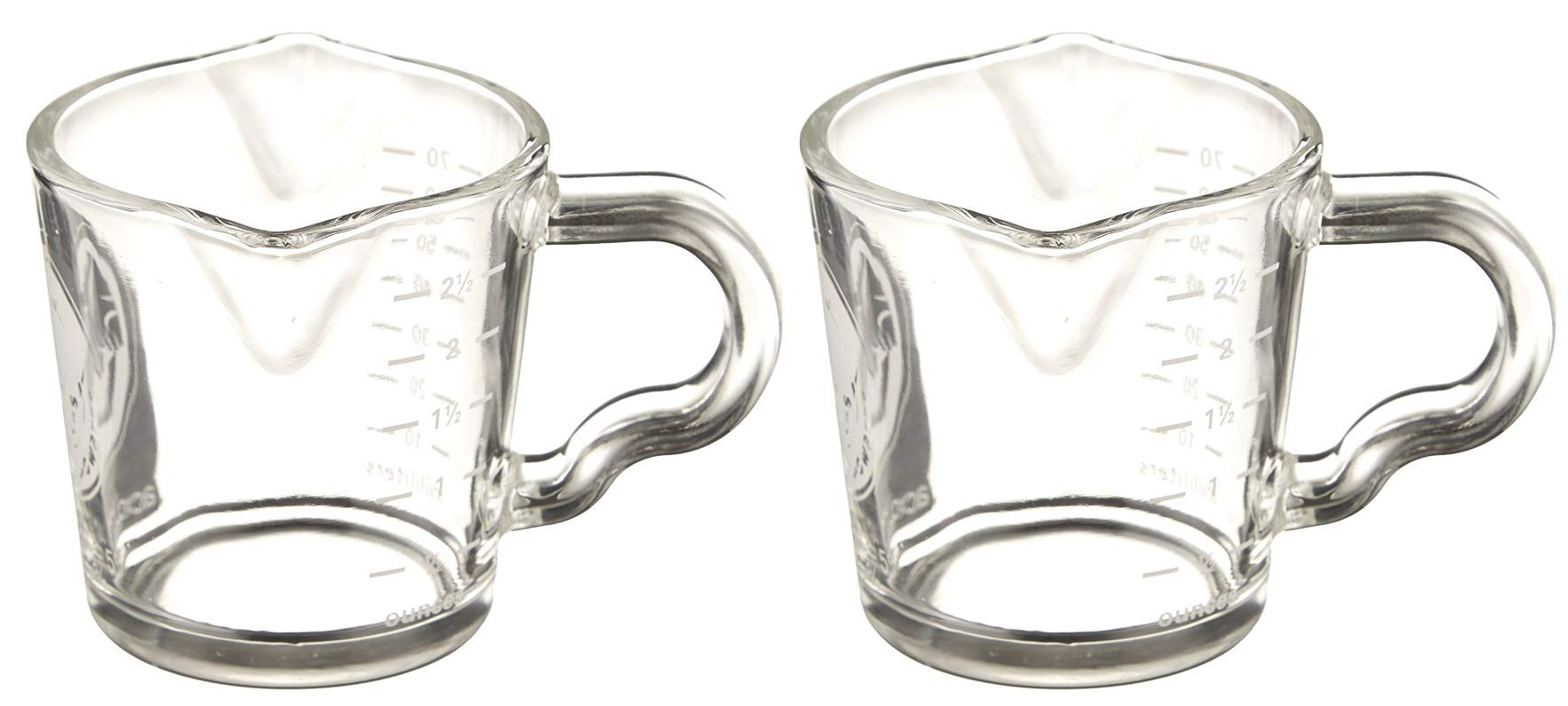 BrewGlobal Rhinoware Shot Glass - Double (BRESG01) - 2-COUNT