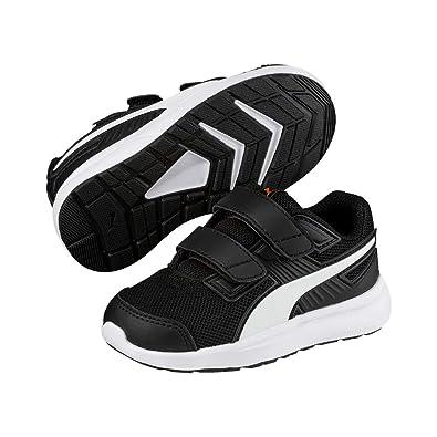 13c1e8e98c Puma Escaper Mesh V Ps Siyah Beyaz Kırmızı Unisex Çocuk Sneaker Ayakkabı 29