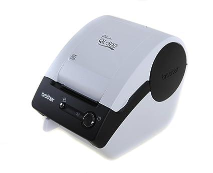 Brother QL-500A - Impresora de etiquetas (Térmica directa, USB, 6,2 cm, DK, Manual, P-touch Editor)