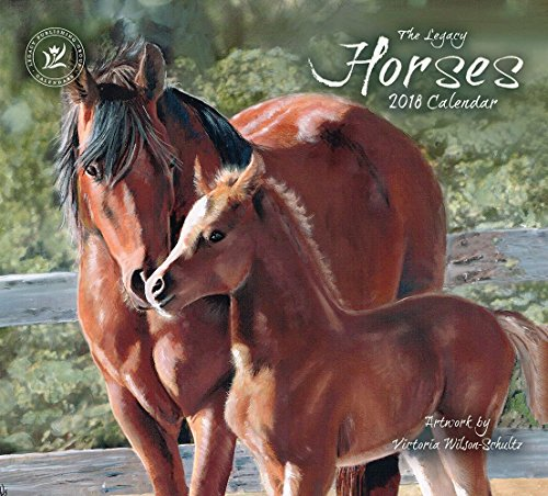 Legacy Publishing Group 2018 12-Month Wall Calendar, Hors...