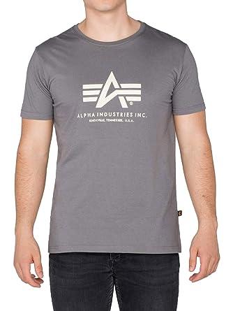 Alpha Industries 1er/2er Pack Logo de la Marca Camiseta básica ...