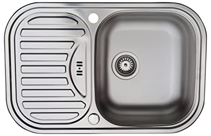 Fregadero de cocina de acero inoxidable / MIZZO Sino Basic 100 - 1 seno - topmount