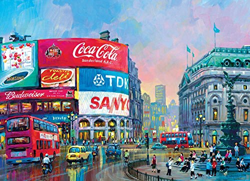 Puzzle - 1000 Pieces - London Piccadilly Circus