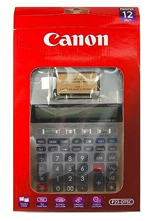 Calculadora impresora Canon P23-DTSC plata