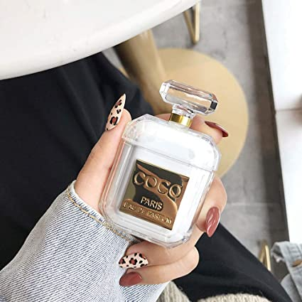 Amazon Com Ur Sunshine Airpods Case Luxury Creative Coco Perfume