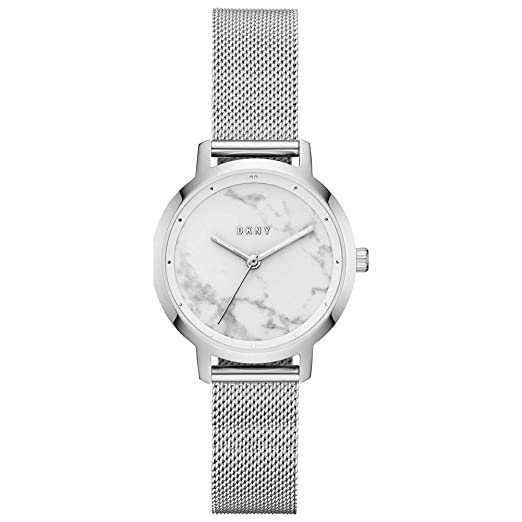 Watch Ladies Modernist Steel Mesh Stainless The Ny2702 Dkny Silver OXiPZuk