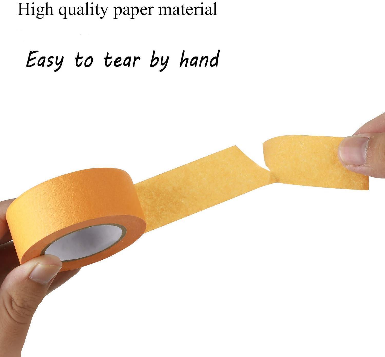 manualidades modelado qiaoyosh cinta adhesiva color 20mm x 13m recambio 8 rollos pintura etiquetado o codificaci/ón cinta de conducto de colores colores conjunto de cintas para artes