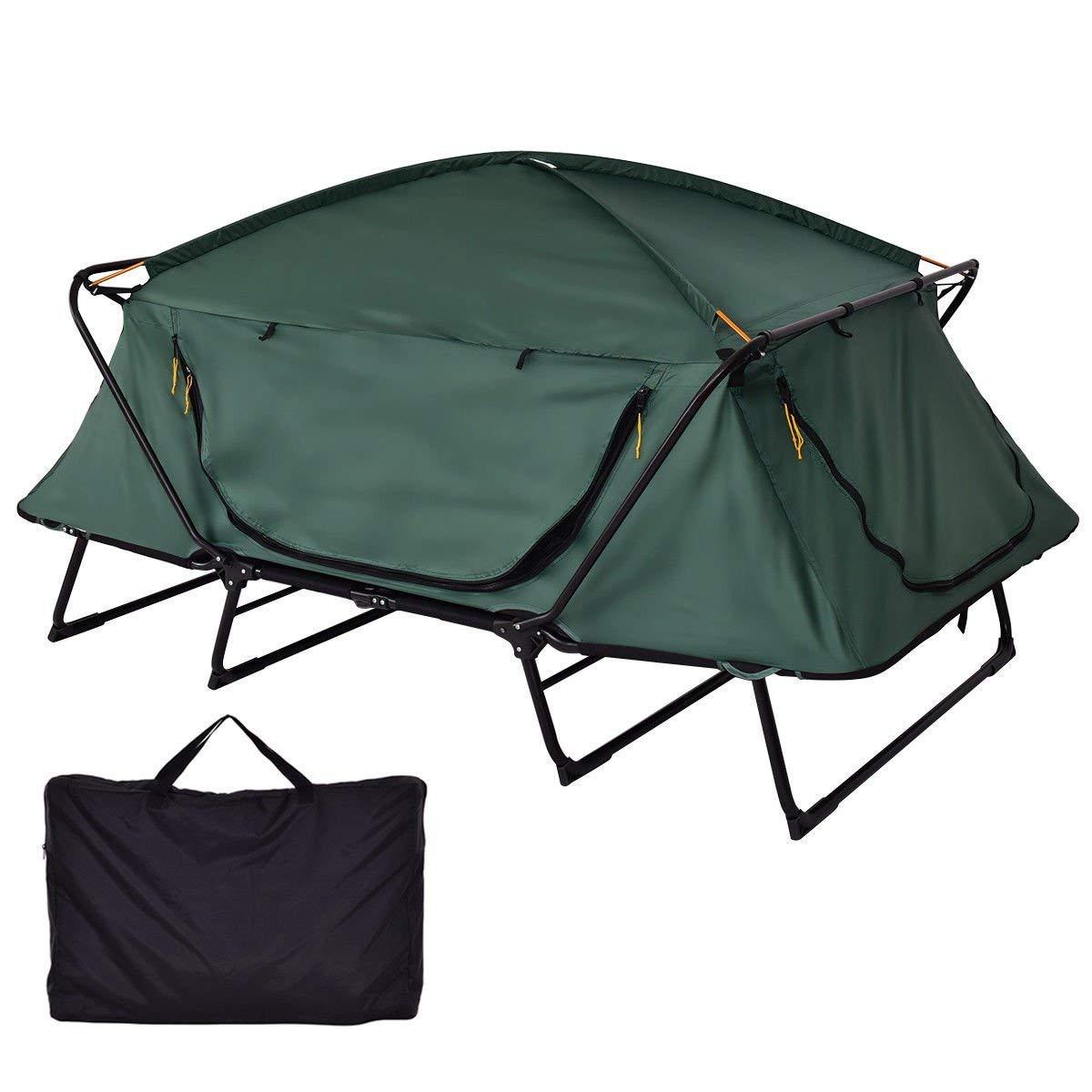 Tangkula Tent Cot Folding Waterproof 2 Person Hiking