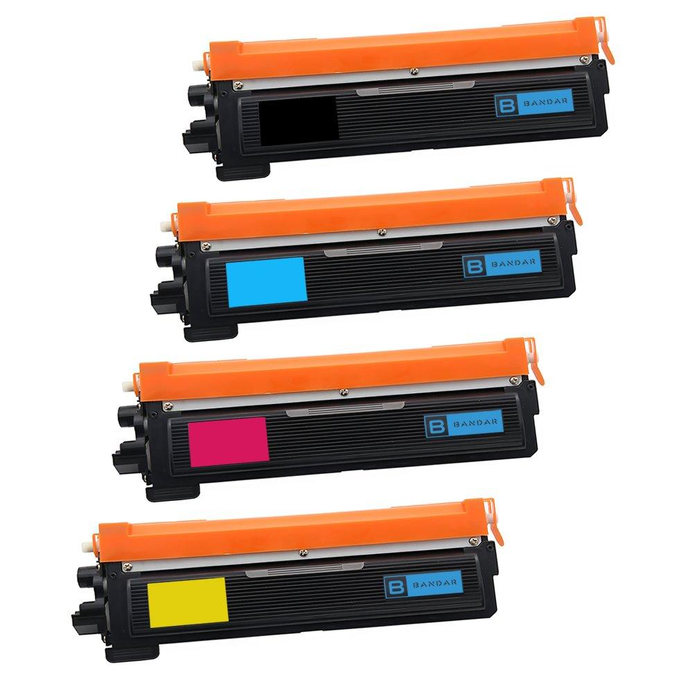 Bandar 4 Pack TN210 TN-210 Toner Compatible Ink Cartridges for Brother DCP-9010CN HL-3040CN HL-3045CN HL-3070CW HL-3075CW MFC-9320CN MFC-9010CN MFC-9120CN MFC-9125CN MFC-9320CW (BCMY)