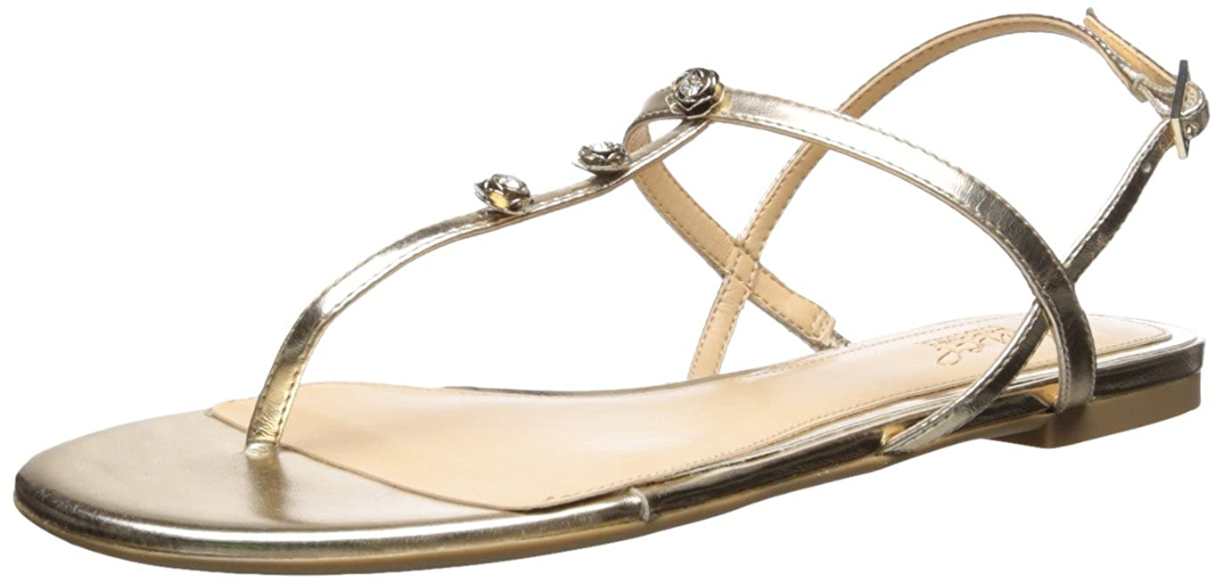 Badgley Mischka Jewel Women's Thom Flat Sandal Jewel Badgley Mischka JW2321
