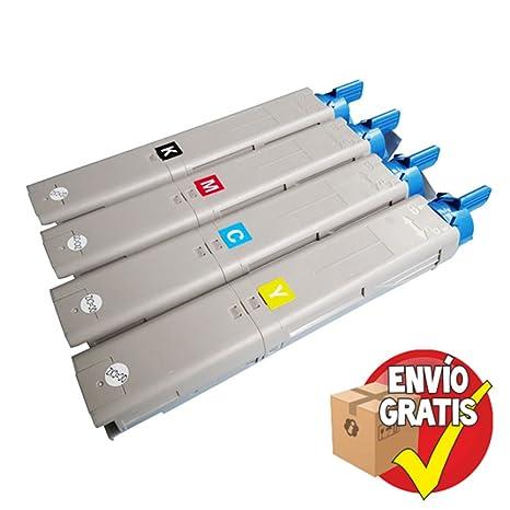Entrega Gratis 24/48h - Toner Oki C3300 / C3400 / C3600 Pack 4 ...
