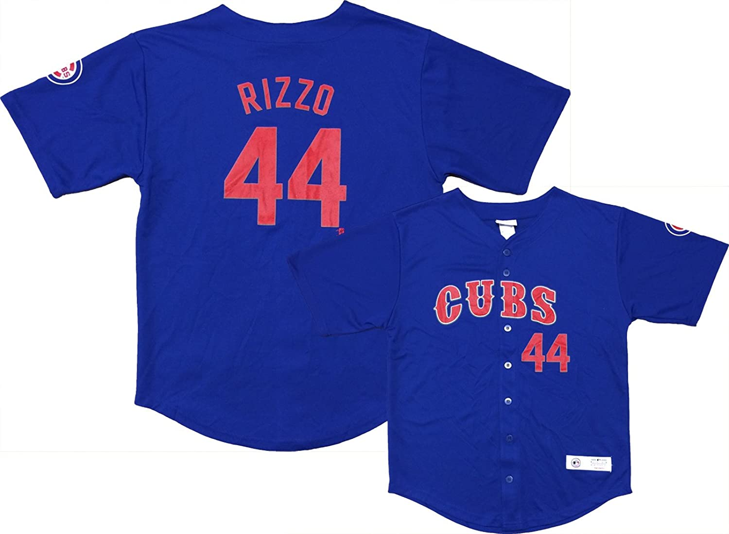 Top Anthony Rizzo Chicago Cubs #44 Blue Youth Player Fashion Jersey free shipping