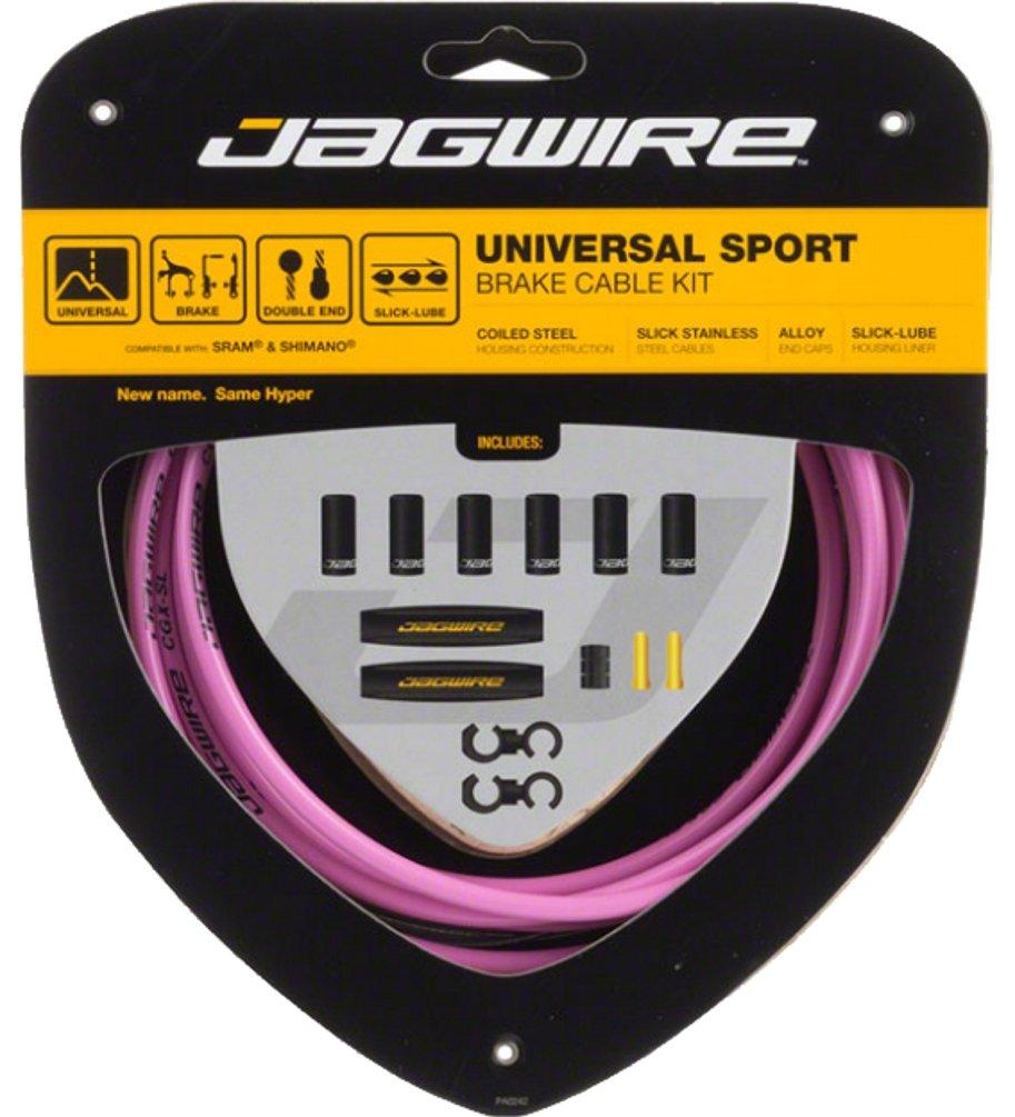 Jagwire Universal Sport Brake Cable Kit Pink by Jagwire