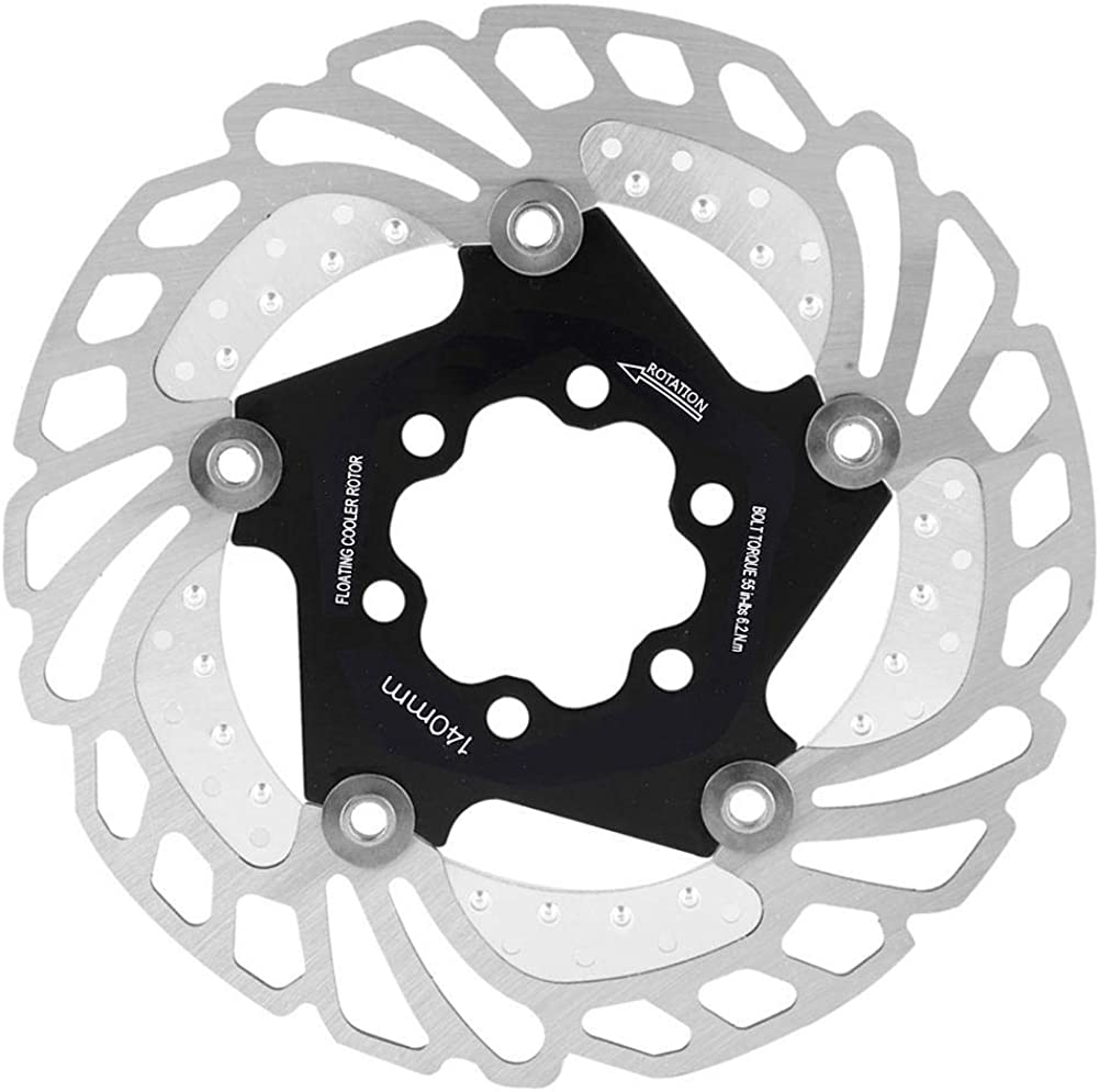 Bike Cooling Floating Rotor, Bicycle Brake Disc Pad 140MM 160MM 180MM 203MM for Mountain Road Bike
