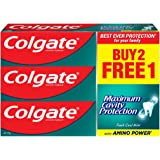 Colgate Maximum Cavity Protection Fresh Cool Mint Toothpaste Valuepack 175g x 3