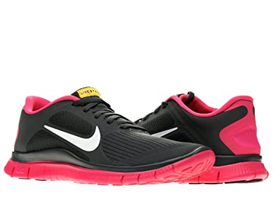 online store 0cbe1 cdd8e Amazon.com   Nike Free 4.0 V3 Livestrong Womens Running Shoes 586296-006  Anthracite 9.5 M US   Road Running