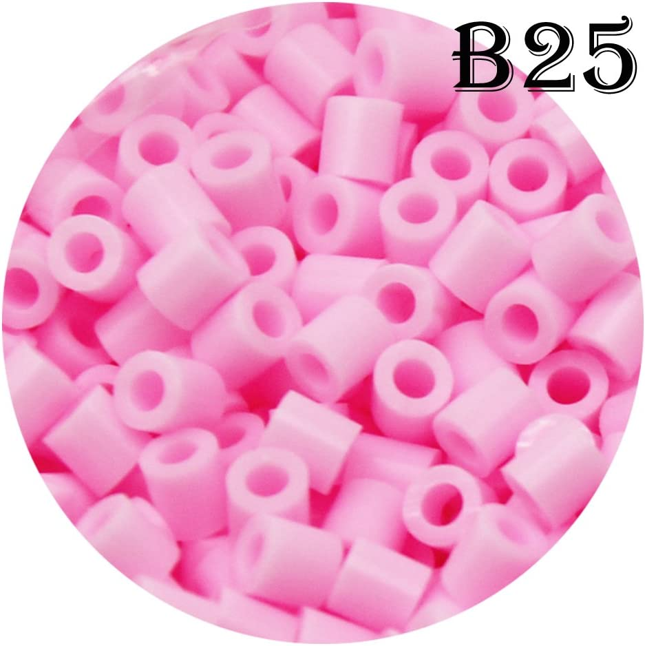 Light Salmon 1500 Count B14 H/&W 5mm Fuse Bead Refill Bag