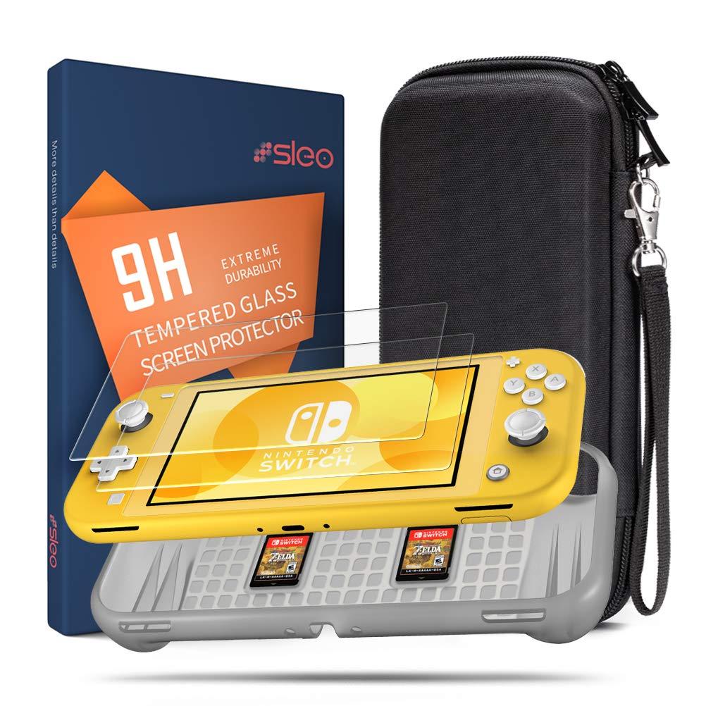 SLEO Funda para Nintendo Switch Lite,3 en 1 Accesorios para Nintendo Switch Lite con Silicona Funda para Switch Lite,2 Protector de Pantalla, Estuche de Viaje para Nintendo Switch Lite: Amazon.es: Electrónica