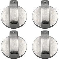 Gasfornuis Controle Knop Schakelaar Metalen Gasfornuis Oven Oppervlak Controle Lock Universele Zilver 6mm Accessaries…