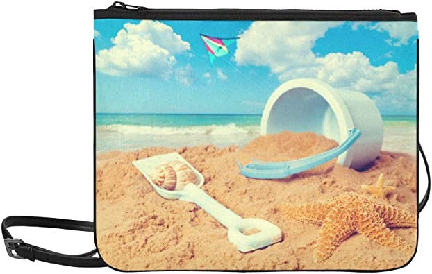 Awesome Sea Scene Custom Waterproof Travel Tote Bag Duffel Bag Crossbody Luggage handbag