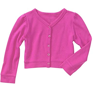 b679451b6 Amazon.com  Baby Boutique® Baby Girls  Pink Button Sweater Size  6-9 ...