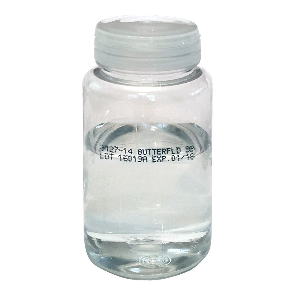 Weber Scientific 99 mL Butterfield Pre-Filled Sterile Dilution Bottles, Case of 72