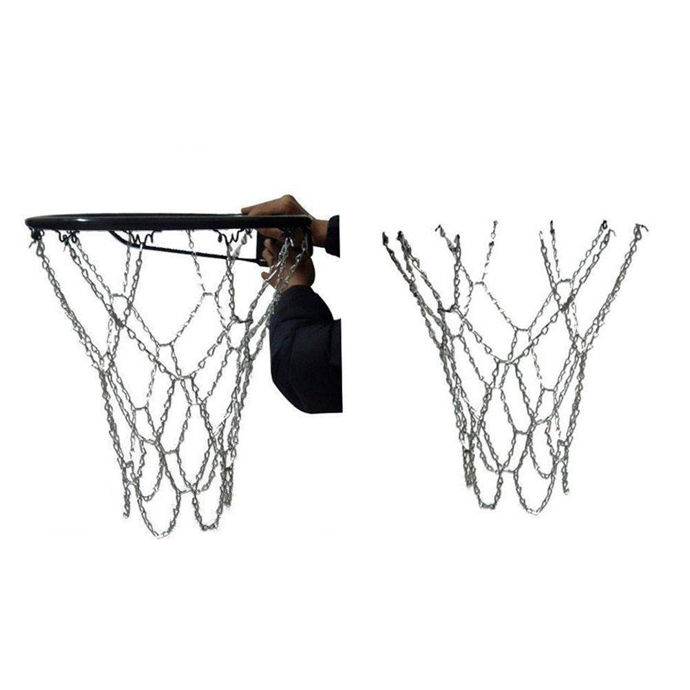 WINOMO baloncesto neto cadena de acero clásico deporte: Amazon.es ...