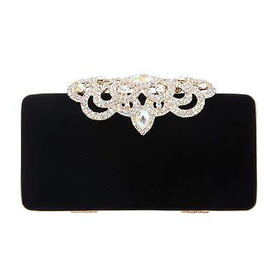 87e1c6116 Fawziya Crown Velvet Evening Clutch Purses And Handbags For Women-AB Gold