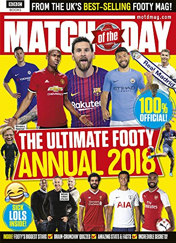 Match of the Day Annual 2018 (World Cup 2010 Match)