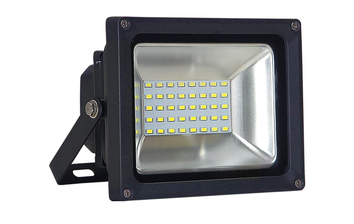 ASD LED Floodlight 20W SMD Outdoor Landscape Security Waterproof UL Listed 5000K (Daylight)