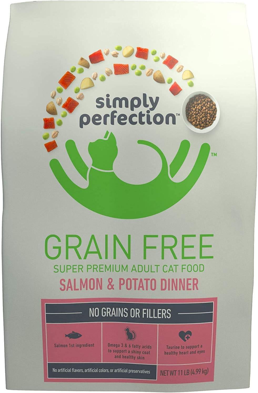 Simply Perfection Super Premium Grain Free Salmon & Potato Dinner Cat Food
