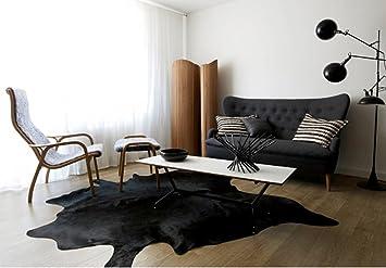 black cowhide rug Roselawnlutheran