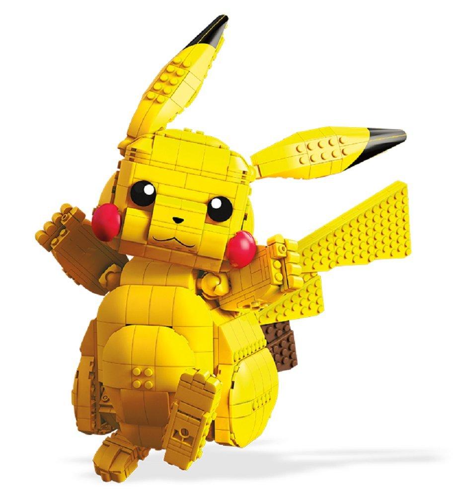 Mega Construx Pokemon Jumbo Pikachu Building Set Fisher Price / Mattel Canada FVK81
