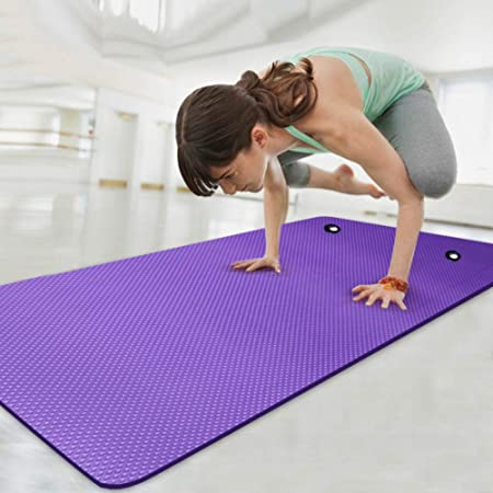 Hanging Exercise Yoga Mat Nbr Widened 80cm Thick 10mm Non Slip Sports Mat For Group Fitness Classes Workout Mats Amazon Co Uk Kitchen Home