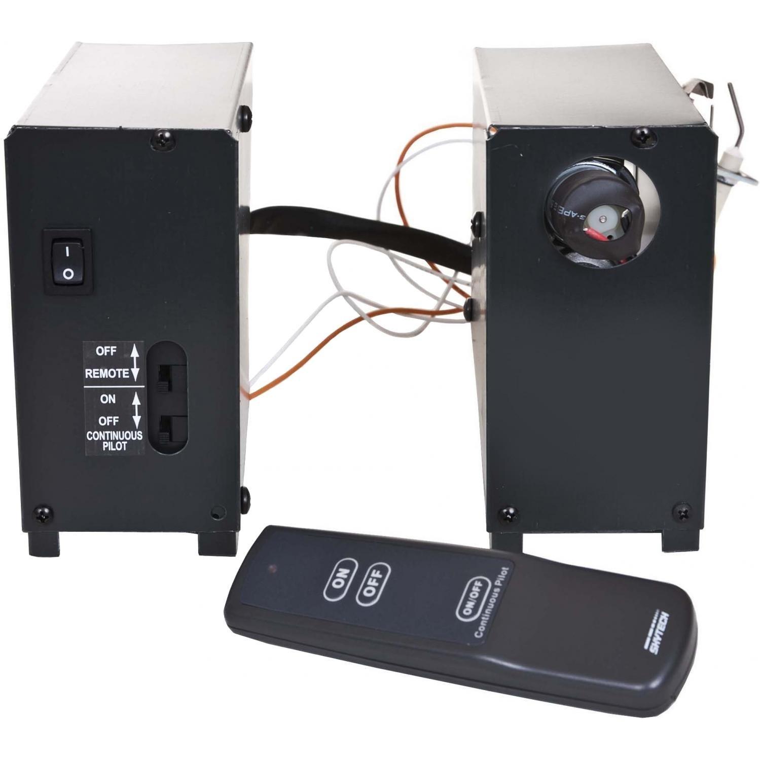 Skytech Manual Hi/Lo Split Spark to Pilot Gas Valve Kit with On/Off/Hi/Lo Remote (AFVK-SP-MH-L-SPLIT) by SkyTech
