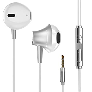 a71f33746db Noise Isolating In-ear Earphones Earbuds Heavy Deep Bass Headphones with  Microphone & Remote Control