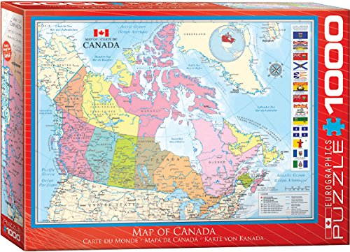 (EuroGraphics Map of Canada Puzzle (1000 Piece))