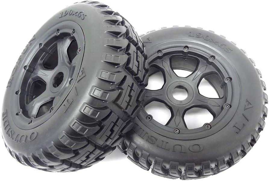 1//5 Baja 5T Terminator Wheels 5SC Front Truck All Terrain Tires