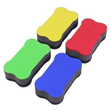 STOBOK - 20 gomas de borrar magnéticas para pizarras blancas ...