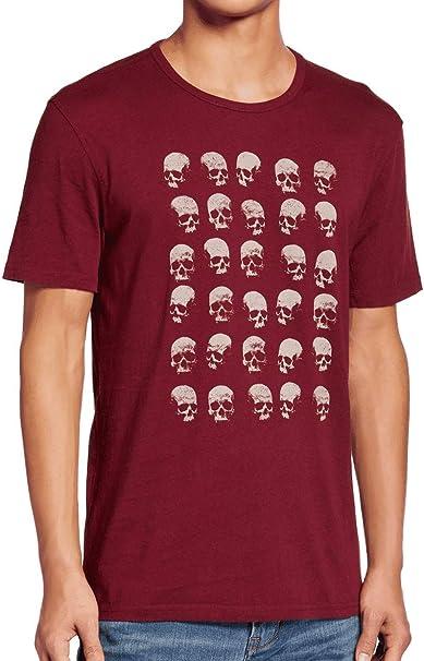 John Varvatos Star USA Men/'s Faded 3 Stars Graphic Cotton Crew T-Shirt Oxblood