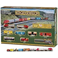 Bachmann 24008 Explorer Ready - To - Run N Scale Train Set