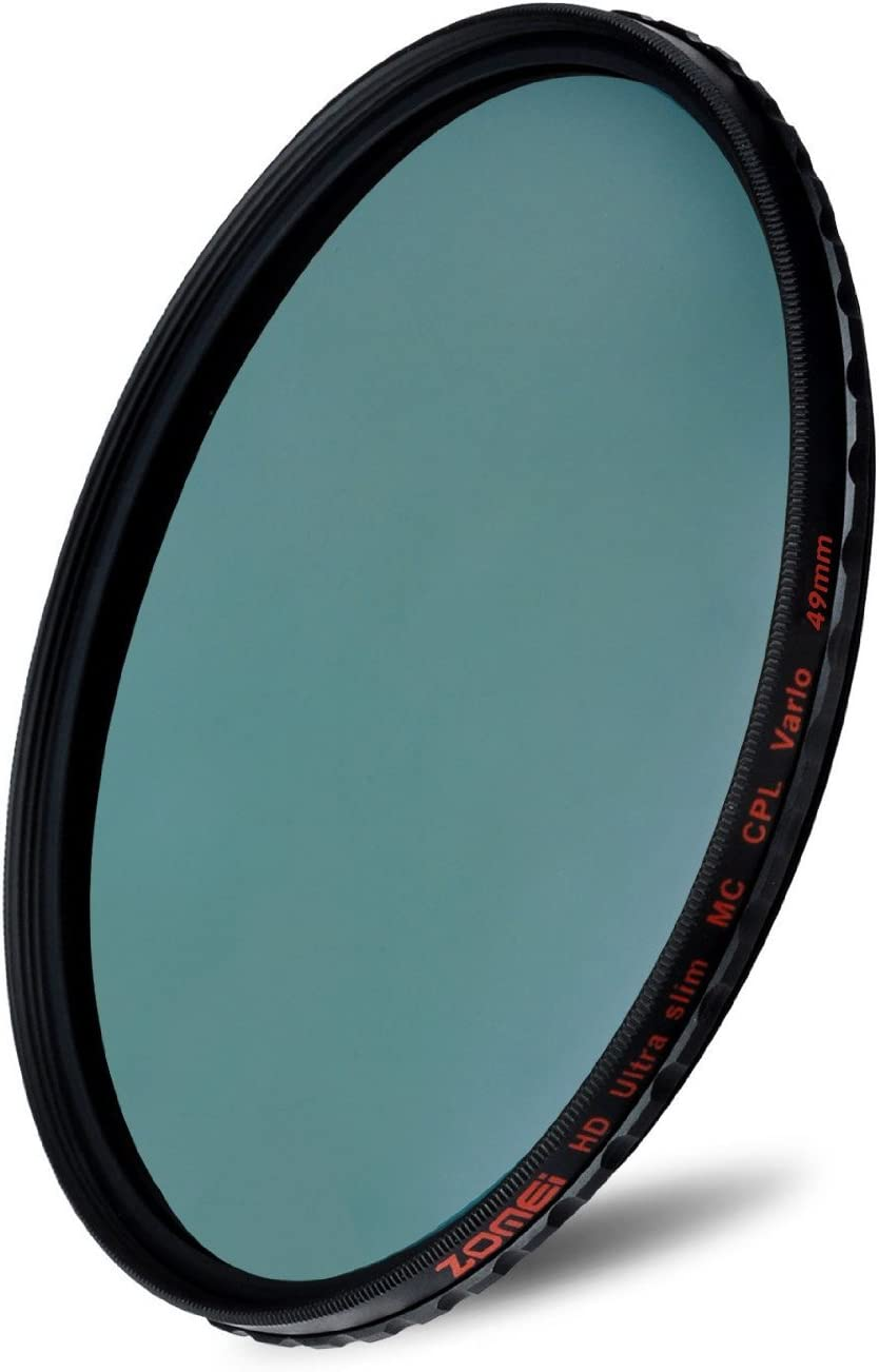 ZOMEI 72mm Genuin 18 Layer MC HD Polarizer Slim CPL Filter Waterproof oilproof