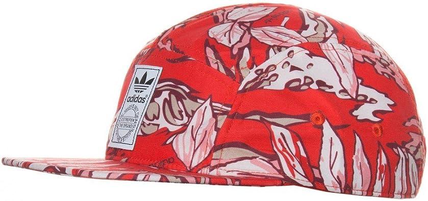 Gorra Adidas – 5 Panel Camo Snapback Rojo Osfw: Amazon.es ...